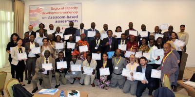Atelier régional de renforcement des capacités sur l'évaluation formative en classe